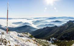 Csalhó hegység - Tóka csúcs - meteó állomás