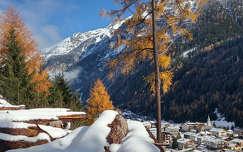 ősz tél hegy