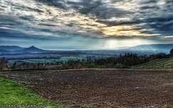 Balatoni naplemente Hegymagasról