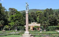 Trieszt,Miramare kastély parkja,Olaszország