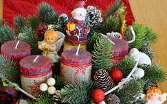 gyertya karácsonyi dekoráció karácsony advent