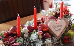 gyertya karácsonyi dekoráció