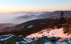 hegy kárpátok tél csehország