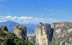 Meteora kolostorok, Thesszália, Görögország