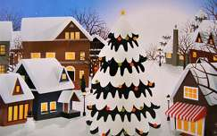 karácsonyi dekoráció karácsony grafika karácsonyfa