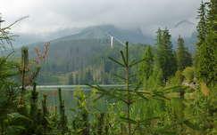 Csorba-tó felhőben