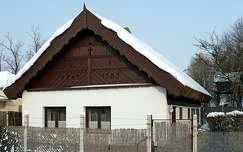 tél, parasztház, szajol, magyarország