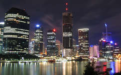 Brisbane éjszakai fényei, Ausztrália