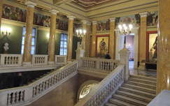 Budapest,Nemzeti Múzeum lépcsőháza
