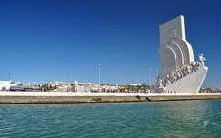 Felfedezők emlékműve -Padrão dos Descobrimentos- Lisszabon, Portugália