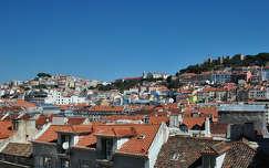 Szent-György vár, Castelo de Sao Jorge, Lisszabon, Portugália