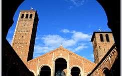Olaszorszag, Milano - Szent Ambrus templom