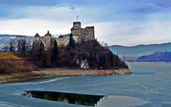 tükröződés tél várak és kastélyok jég
