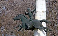 Kun lovas-szobor, Kunhegyes, magyarország