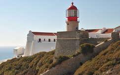Cabo de São Vicente, Szent Vince világítótorony, Algarve, Portugália