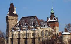 Vajdahunyad vára télen (Budapest)