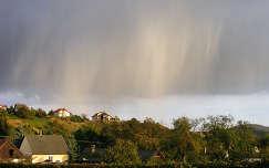 ház eső felhő