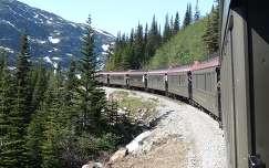 Vonat Alaszkában