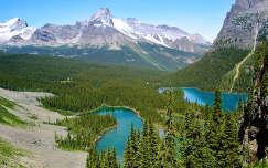 Mary Lake, Szikás hegység, Kanada