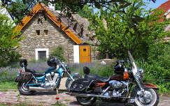 Motorok Tihanyban