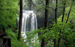 Dry-Falls, Great Smoky Mountains Nemzeti Park