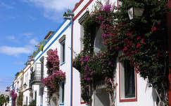 Virágos házak, Gran Canarián