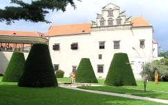 Csehország Telc várudvar