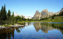 Szikás-hegység, Kanada