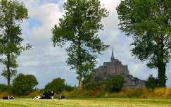 Mont-Saint-Michel, Normandia, Franciaország