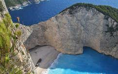 Görögország (Zakynthos) - Navaggio öböl