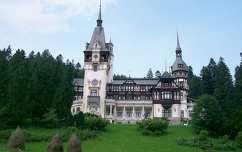 Mihály Király egykori kastélya, Szinaja, Erdély, Románia