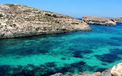 Comino szigete, Málta