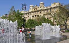 Budapest Szabadság tér Okos szökőkútja