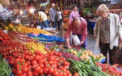 piac zöldség paradicsom termény