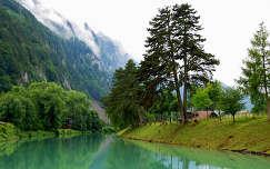 Interlaken, Svájc, Alpok