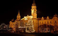 Győr karácsonyi díszben