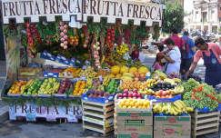 Róma, gyümölcsárus