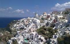 Görögország Santorini szigete, Oia város