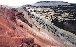 kanári-szigetek spanyolország lanzarote kövek és sziklák