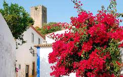 Obidos, Portugália
