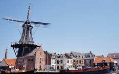 Hollandia, Haarlem, szélmalom