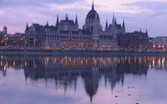 Hajnal, Országház, Budapest, Magyarország