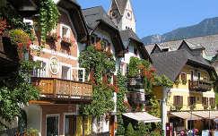 Hallstatt főtér, Ausztria
