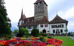 Spiez-kastély, Svájc