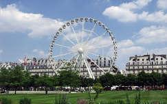 Franciaország, Párizs, a Tuileriák kertje. óriáskerék