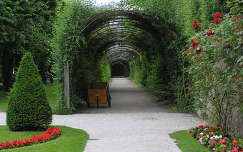 Salzburg,Mirabell kastély parkja