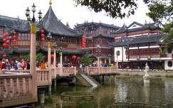 Kína, Sanghaj óvárosa, Teázó pavilon a tavon