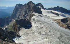 Ausztria, Dachstein gleccser nyáron