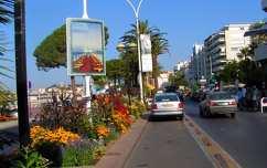 Croisette sétány, Cannes