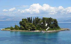 Görögország Korfu kis szigete
